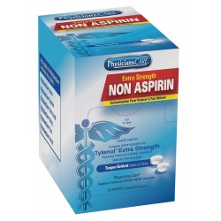 PhysiciansCare - 54036G - Non-Aspirin, Tablet, 25 x 2 Count, 25 PK