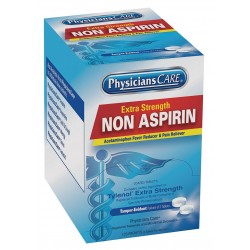 PhysiciansCare - 40800G - Non-Aspirin, Tablet, 125 x 2 Count, 125 PK