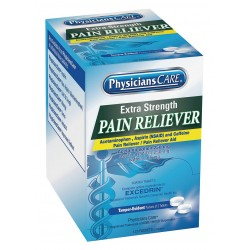 PhysiciansCare - 90317G - Pain Reliever, Tablet, 125 x 2 Count, 125 PK