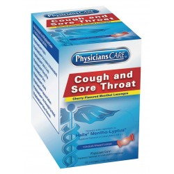 PhysiciansCare - 90034G - Sore Throat Lozenges, Lozenge, 125 Count, 125 PK