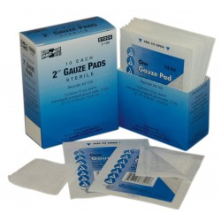 Pac-Kit - 3-100G - Gauze Pad, Sterile, White, No, Gauze, PK10