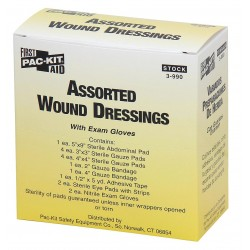 Pac-Kit - 3-990G - Dressing, Sterile, No, Unitized