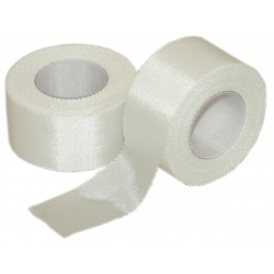Pac-Kit - 8-160G - Tape, White, Cloth, 1 In. W, 10 ft. L