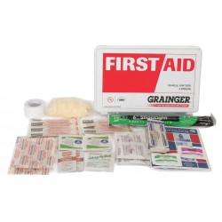 Honeywell - Z019845 - First Aid Kit, Kit, Nylon Case Material, General Purpose, 5 People Served Per Kit