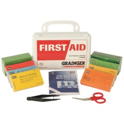 Honeywell - Z019826 - First Aid Kit, Kit, Polypropylene Case Material, General Purpose, 10 People Served Per Kit