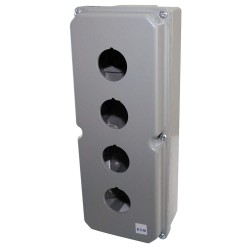 Eaton Electrical - 10250TN14 - Pushbutton Enclosure, 4, 4X, 12, 13 NEMA Rating, Number of Columns: 1