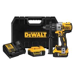 Dewalt - DCD996P2 - DeWALT MAX* XR 20 V Lithium Ion 1/2 Brushless Compact Hammer Drill Kit, ( Each )