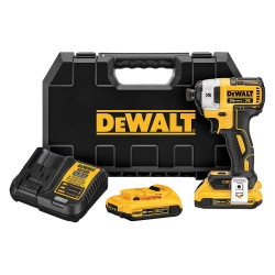 Dewalt - DCF887D2 - 1/4 Cordless Impact Driver, 20.0 Voltage, 1825 in.-lb. Max. Torque, Battery Included