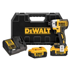 Dewalt - DCF887M2 - 1/4 Cordless Impact Driver, 20.0 Voltage, 1825 in.-lb. Max. Torque, Battery Included