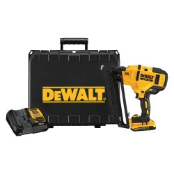 Dewalt - DCN660D1 - Cordless Finishing Nailer, Voltage 20.0 Li-Ion, Battery Included, Fastener Range 1-1/4 to 2-1/2