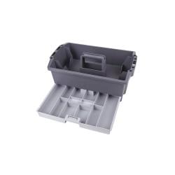 Flambeau - 16500-2 - Tool Organizer, Black/Gray Polypropylene