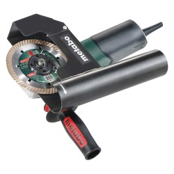 Metabo - W 12-125 HD SET TUCKPOINT - Tuck Pointing Grinder, 9600 No Load RPM, Slide Switch Type