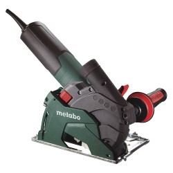 Metabo - W 12-125 HD SET CED - Angle Grinder, 9600 No Load RPM, Slide Switch Type
