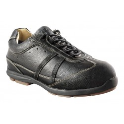 Moxie Trades - 50129 - 3H Women's Work Shoes, Aluminum Toe Type, Leather Upper Material, Black, Size 5D