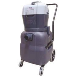 Nilfisk - 107412640 - 12 gal. Eliminator Series Wet/Dry Vacuum, 130 cfm, 1-5/8 HP, 8.5 Amps, HEPA Filter Type