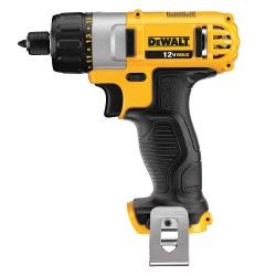 Dewalt - DCF610B - DeWALT DCF610B MAX Cordless Lithium Ion 1/4-in Hex Chuck Screwdriver (Bare Tool)