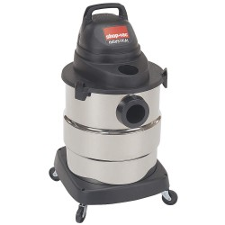 Shop-Vac - 6000110 - Shop-Vac 6000110 6-Gallon 4-1/2-HP Industrial Stainless Steel Wet Dry Vacuum