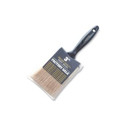 Wooster - P3973-3 - 3 Flat Sash Polyester Paint Brush, Firm, for All Paint Coatings