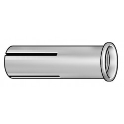 ITW Red Head - RM-34 - 3-3/16 Zinc Plated Steel Drop-In Anchor with 1-1/4 Thread Depth and 3/4-10 Thread Size; PK25