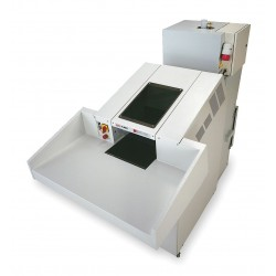 HSM of America - 4040C - Industrial Paper Shredder, Cross-Cut Cut Style, Security Level 3