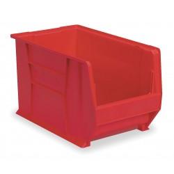 Akro-Mils / Myers Industries - 30281RED - Hopper Bin, Red, 8H x 20L x 12-3/8W, 1EA