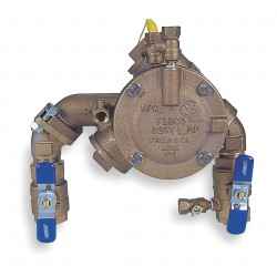 Febco - 1 825 YA - Reduced Pressure Zone Backflow Preventer, Bronze, Watts 825 Series, FNPT Connection