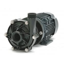 Finish Thompson - DB10V-T-M207 - 1-1/2 HP PVDF 208-230/460V Magnetic Drive Pump, 52 ft. Max. Head