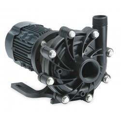 Finish Thompson - DB15V-2-T-M209 - 3 HP PVDF 208-230/460V Magnetic Drive Pump, 90 ft. Max. Head