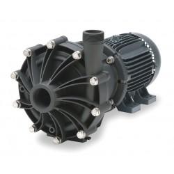 Finish Thompson - DB22V-3-T-21-M239 - 10 HP PVDF 208-230/460V Magnetic Drive Pump, 158 ft. Max. Head