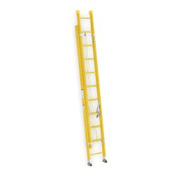 Werner - 9520-2 - Extension Ladder, Fiberglass, IA ANSI Type, 20 ft. Industry Ladder Size