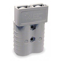 Anderson Power Products - 6325G1 - Power Connector, Gray, 1/0 Wire Size (AWG), 0.437 Max. Wire Dia.
