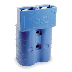 Anderson Power Products - 6326G1 - Power Connector, Blue, 1/0 Wire Size (AWG), 0.437 Max. Wire Dia.