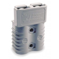 Anderson Power Products - 6320G1 - Power Connector, Gray, 2/0 Wire Size (AWG), 0.484 Max. Wire Dia.
