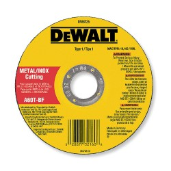 "Dewalt - DW8710 - 3"" Cut-Off Wheel, 0.125"" Thickness, 1/4"" Arbor Hole"