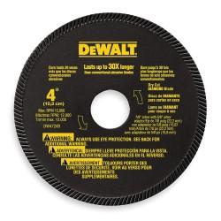 Dewalt - DW4724 - DeWALT DW4724 4'' High Performance Masonry Blade