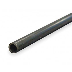 Other - 3CCJ6 - 6 ft. Seamless 1010 Carbon Steel Tubing, 1/2 Outside Dia. (In.), 21/64 Inside Dia. (In.)