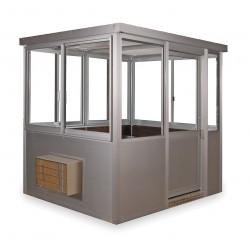 Porta-King - 7648SLHVAC - Guard Building, W 48-7/8, H 98 1/4, w/HVAC