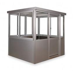 Porta-King - 9696SL - Assm Guard Building, W 101, L 101, H 98 1/4