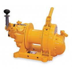 Ingersoll-Rand - BU7A - 15H Piston Motor Air Winch for Pulling with 1200 lb. 1st Layer Load Capacity