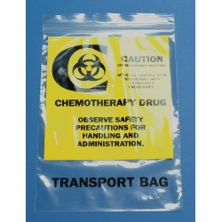 Other - 3CUF5 - Clear Chemo Waste Bag, Contractor Strength Rating, Flat Pack, 500 PK