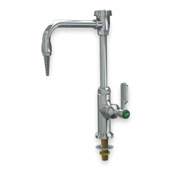 WaterSaver Faucet - L614VB-LE - Rigid/Swing Gooseneck Laboratory Faucet, Deck, 2.00 gpm