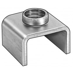 Other - 0310M - 3/8-16 Square T-Joint, Plain Finish, Steel C1008, PK10