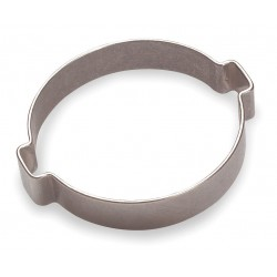 Oetiker - 15100008-100 - Crimp, 2-Ear Hose Stainless Steel Hose Clamp
