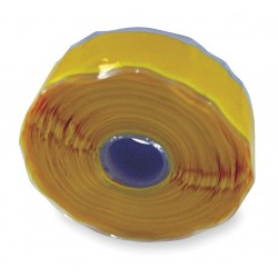 Er Tape - GL20Y67000 - 1W Silicone Rubber Self-Fusing Tape, Yellow, 432 Length