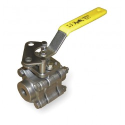 Apollo Valves - 86A10201 - 316 Stainless Steel FNPT x FNPT Ball Valve, Locking Lever, 3/8 Pipe Size