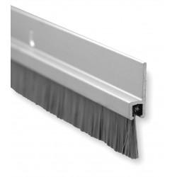 Pemko - 10861DNB48 - Brush Door Sweep, Dark Bronze Aluminum, 4 ft. Length, 3/4 Flange Height, 5/8 Insert Size