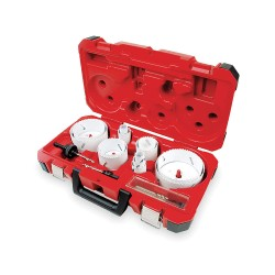 Milwaukee Electric Tool - 49-22-4155 - Master Plumbers Hole Saw Kit, 18 Pc