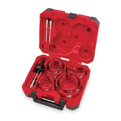 Milwaukee Electric Tool - 49-56-9085 - 10 pc. Big Hawg[REG] Hole Cutter Kit