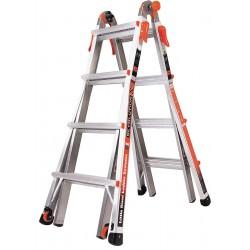 Little Giant - 12017 - Aluminum Multipurpose Ladder, 15 ft. Extended Ladder Height, 300 lb. Load Capacity