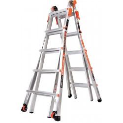 Little Giant - 12022 - Aluminum Multipurpose Ladder, 19 ft. Extended Ladder Height, 300 lb. Load Capacity